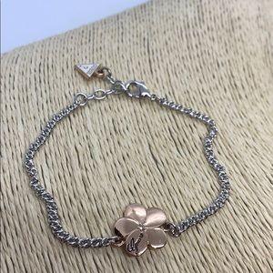 Guess Flower Charm Bracelet
